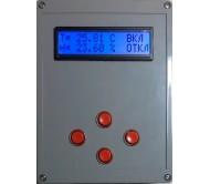 Регулятор относительной влажности и температуры РВТ 220.0-10.1.1.К (H=0-100%, T=0...+50)